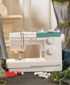 My new Husqvarna Viking sewing machine; Emerald 118 model :-)