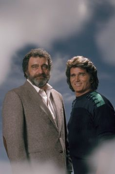 These two friends are now in heaven. GONE too soon. Victor French & Michael Landon ❤