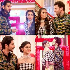 Cute couples😘 the best outfits Cute Love Couple, Best Couple, Beautiful Couple, Shrenu Parikh, Dil Bole Oberoi, Game Of Love, Surbhi Chandna, Indian Drama, Cute Wallpaper For Phone