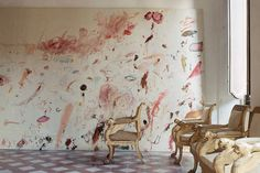 Cy-Twombly-home,-Rome-1966,-by-Horst-P.-Horst-for-Vogue