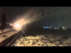 Winter in Duluth along the Aerial Lift Bridge