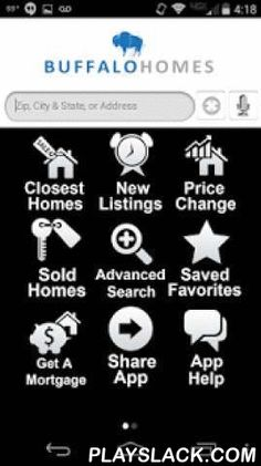 Buffalo Homes  Android App - playslack.com ,  BUFFALO HOMES puts real estate in the palm of your hand, wherever you go regardless of your Smartphone, our app is a great solution. The same property listings Realtors get for you from the MLS. Try our application now for your home search and experience mobile house hunting today. Experience all the details you want to know about a property including price, square footage, pictures, taxes, features, descriptions, maps and more! You can even…