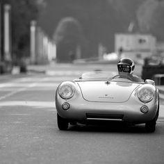 James Dean & a Porsche 550 Spyder