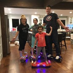 Hoverboarding with @shawnjohnson and @andrewdeast