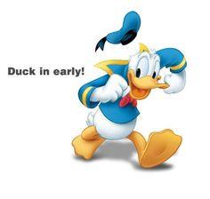 Disney's Donald Duck:)