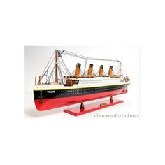 Maqueta de artesanía náutica transatlántico Titanic Titanic Model, Underwater, Miniatures