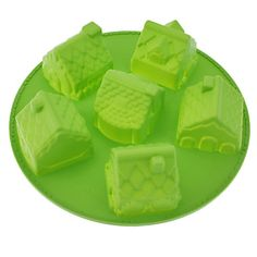 House Shaped Silicone Cake Mould – USD $ 12.47