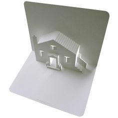 Pop Up House. Click on link for free video tutorial and template http://www.popupology.co.uk/galleries/2/items/93
