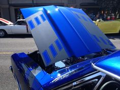 Pro Touring custom big block 1967 Chevelle side rally fender stripes