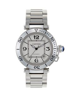1307b757677 Cartier Stainless Steel Pasha by Vintage Watches at Gilt