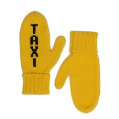 Kate Spade's taxi mittens are back this year! $65