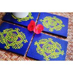 Madhubani Coasters