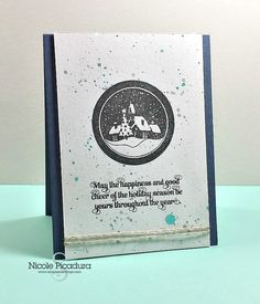 Holiday Card Series DAY 3 – Scraps & Stamps