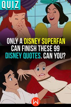 """Hakuna matata, what a _______.""  Put your Disney knowledge to the test and see if you can finish all of these iconic Disney quotes! #disney  #classic #quotes"