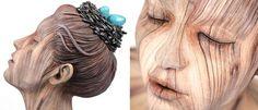Fantásticas+esculturas+em+cerâmica+que+imitam+madeira