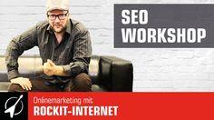 #SEO Workshop | Onlinemarketing mit ROCKIT-INTERNET  SEO-Workshops die rocken!