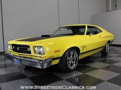 1973 Ford Gran Torino Old Muscle Cars, Best Muscle Cars, American Muscle Cars, Car Ford, Ford Trucks, Grand Torino, Ford Ltd, Ford Torino, Ford Classic Cars