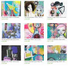 Life Book 2014 - Week 35 - An Artist Interview with Jennibellie - willowing & friends