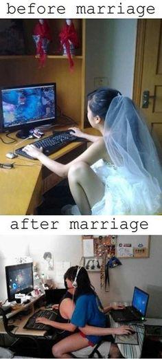 Y así, es la pareja gamer perfecta