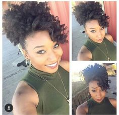 types of haircut for hair this is a look i did with kinkycurlyyaki afro 4192