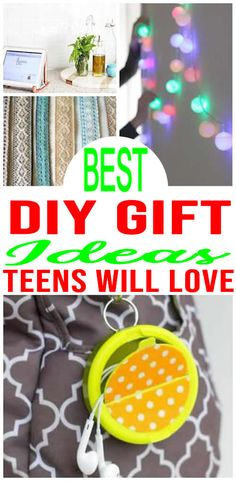 Amazing diy gifts for teens! easy diy craft projects for the best gift ideas for teens and tweens. great diy gifts for christmas gifts, birthday gifts, Gifts For Teen Boys, Birthday Gifts For Teens, Diy Gifts For Kids, Birthday Gifts For Best Friend, Birthday Crafts, Diy For Girls, Diy For Teens, Easy Gifts, Crafts For Teens