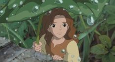 Screencap Gallery for The Secret World of Arrietty Bluray, Studio Ghibli). Arrietty and the rest of the Clock family live in peaceful anonymity as they make their own home from items that they borrow from the house's Hayao Miyazaki, Totoro, Secret World Of Arrietty, The Secret World, Secret Life, Studio Ghibli Art, Studio Ghibli Movies, Studio Ghibli Characters, Howl's Moving Castle