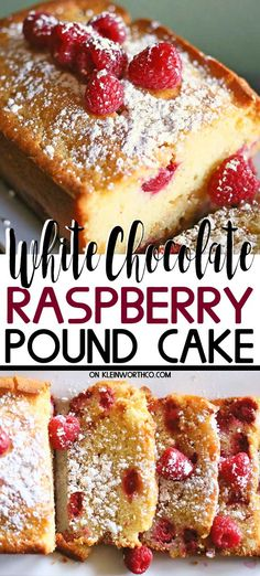 White Chocolate Pound Cake is a delicious & easy pound cake recipe packed full of plump raspberries. Perfect for any holiday,celebration or event. Raspberry White Chocolate Pound Cake is a delicious & easy pound cake recipe packed full of p. Best Dessert Recipes, Cupcake Recipes, Cupcake Cakes, Bundt Cakes, Cupcakes, Easy Pound Cake, Pound Cake Recipes, Vegan Pound Cake Recipe, Spring Desserts