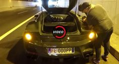 Running Out Of Gas In A Ferrari F12tdf Is As Ridiculous As It Sounds
