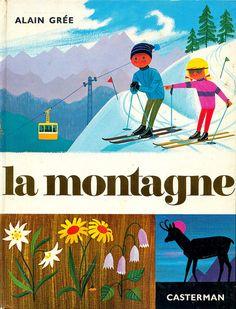 la montagne alain gre 1966 by maptitefabrique - Baos Vintage