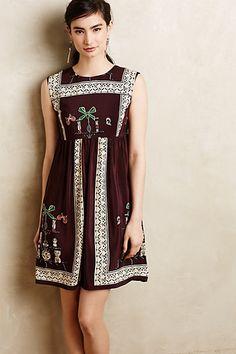 Folia Silk Dress #anthroregistry
