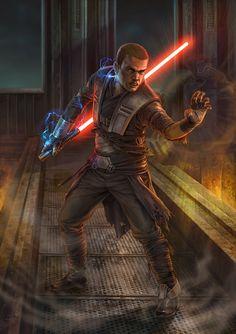 Vaders Apprentice /by Chris Trevas #StarWars #art