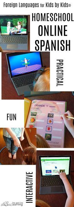 Online Spanish Curriculum for Homeschool