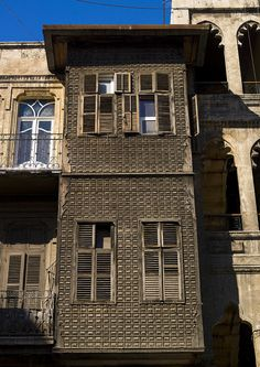 https://flic.kr/p/bR1cup | Old House In Aleppo, Syria | Aleppo was famous for its architecture; for its attractive churches, mosques, schools and baths, as an important center of trade between the eastern Mediterranean kingdoms and the merchants of Venice, Aleppo became prosperous and famous in the centuries preceding the Ottoman era  © Eric Lafforgue  www.ericlafforgue.com