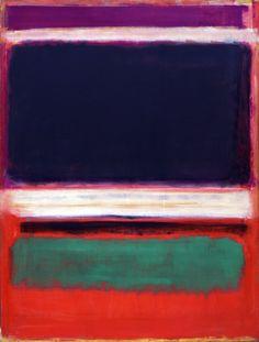 """poeticasvisuais: """" Mark Rothko - No. 3/No. 13 (1949) """""""