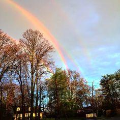 ALLPE Medio Ambiente Blog Medioambiente.org : Un arco iris cuádruple sobre Nueva York