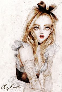"fairytalemood: "" ""Alice"" by laphet """