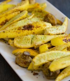 Baked Yellow Squash With Mushrooms - My Vegan Cookbook - Vegan Baking Cooking Recipes Tips