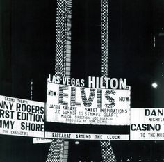 In 1969 Elvis performed his first show at the Las Vegas Hilton International to a sold-out crowd. He went on to perform regular engagements at the hotel for seven years — a total of 837 consecutive sold-out performances in front of 2.5 million people.