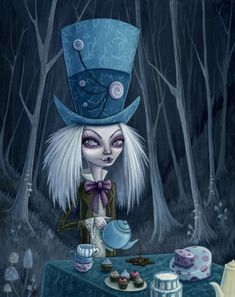☆ Alice in Wonderlandゝ。Artist Megan Majewski ☆