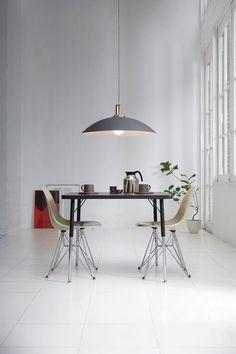 Office Desk, Dining Table, Lights, House, Furniture, Home Decor, Ideas, Desk Office, Decoration Home