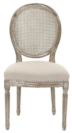 French Cane Back Dining Chairs