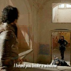 ATHOS SASS 2x6: Through A Glass Darkly
