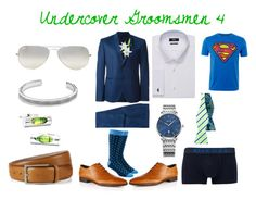 """""""Undercover Groomsmen 4"""" by zigzag433 on Polyvore featuring Diesel, Ray-Ban, David Yurman, Laura Cole, women's clothing, women's fashion, women, female, woman and misses"""