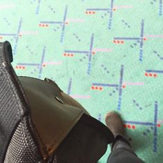 Our Northwest Messenger made it back to #pdx! Colorado, thanks for being a wonderfully beautiful place #looptravels #pdxcarpet