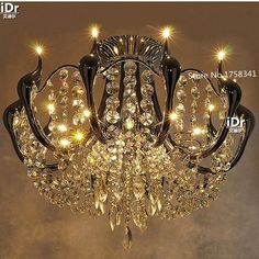 494.00$  Watch here - http://ali4vv.worldwells.pw/go.php?t=32667847489 - New modern crystal Chandeliers Swan minimalist luxury living room lights led Restaurant Lighting High-grade light 494.00$