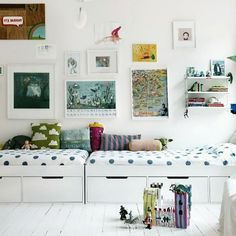 ideas for kids' room beds