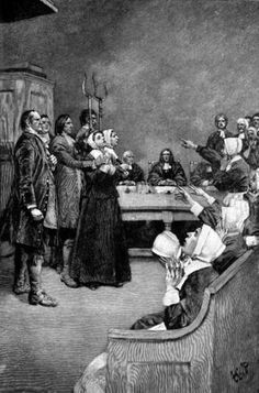 The Trial of a Witch    An embarrassing and tragic time in American history, the Salem witch trials of 1692 saw spectral evidence, accusation of neighbors, and executions before authorities ended the trials.