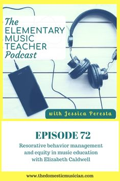 This episode with Elizabeth Caldwell of Organized Chaos Music is all about restorative behavior management and equity in music education. I love this conversation and think it is one that is so important to have.  We talk about what it's like working with kids who have gone through trauma, how you can be a great teacher no matter what your school environment looks like, and even ways to bring hip-hop music into the elementary music classroom.