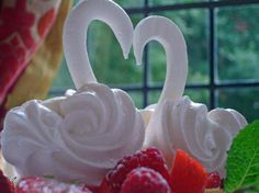 Langtry's Restaurant, Bournemouth Picture: Celebration Meringue Swan Dessert - Check out TripAdvisor members' 3,828 candid photos and videos.