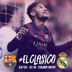 Heute: Barcelona vs. Real Madrid - Anstoß 21:00 Uhr (deutsche Zeit) Primera Division - #ElClasico Kader: Ter Stegen, C. Bravo, Piqué, Rakitic, Sergio, Xavi, Pedro, Iniesta, Suárez, Messi, Neymar Jr,...
